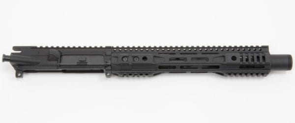 "AR15 10.5"" 300 BLK Faxon Gunner 1/8 Twist 416-R SS Nitrided Barrel W/ 11.625"" Slim FFSSR M-LOK Rail W/ KAK Flash Can"