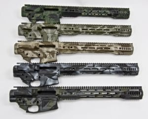LR308 (DPMS) Cerakoted Builder Sets (Lower, Upper, Handguard)