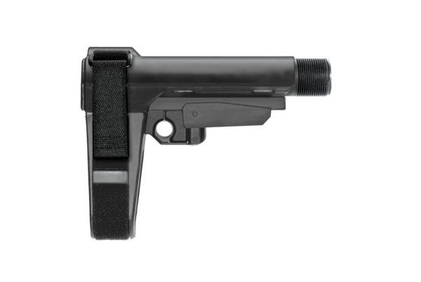 AR15 SB Tactical SBA3 Pistol Stabilizing Brace W/ Mil Spec Buffer Tube - Black