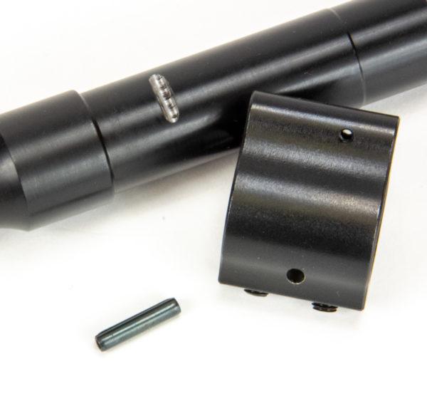BKF AR15 16″ 5.56 Govt Profile Mid Length 4150 CMV 1/7 Twist Barrel W/ Pinned Gas Block