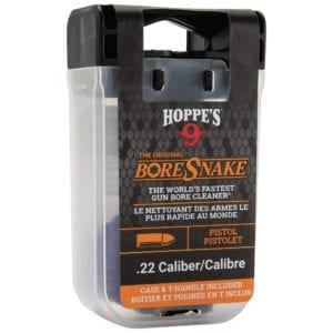BoreSnake Bore Cleaner For .22 Caliber Pistol Storage Case With Handle