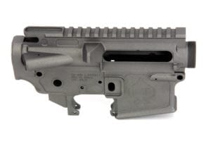 BKF AR15 MOD-1 Stripped Cerakoted Receiver Set - Tungsten
