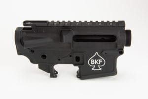 BKF AR15 MOD-1 Stripped Receiver Set - Anodized