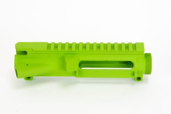 BKF AR15 Stripped Upper Receiver - Zombie Green Cerakote