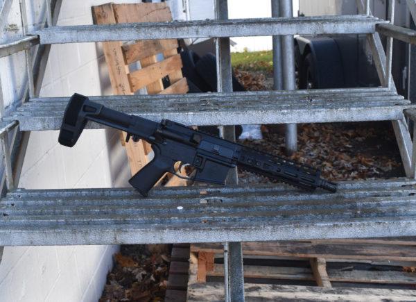 "BKF M4 MOD-0 8"" 1/7 Twist 300 Blackout PDW Hybrid Pistol"