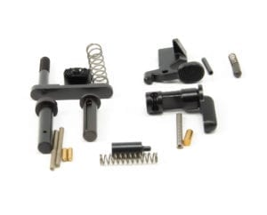 BKF AR15 Lower Parts Kit (LPK) Minus FCG, Trigger Guard and A2 Grip