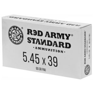 Century Arms, Red Army Standard, 5.45X39, 60Gr, Full Metal Jacket, 20 Round Box